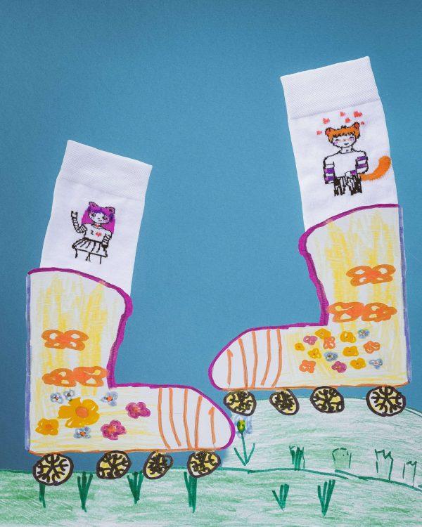 Шкарпетки «Божевільна парочка»