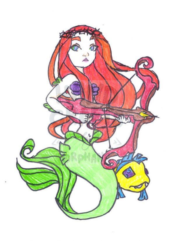 "Print for application ""Mermaid"""