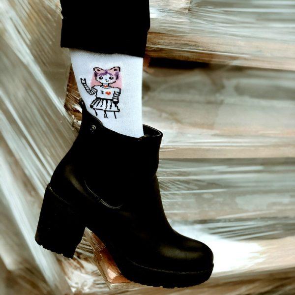 """Socks """"Anime girl"""""""
