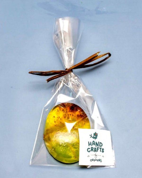Натуральне мило ручної роботи з маслом авокадо та вітамінами А та Е