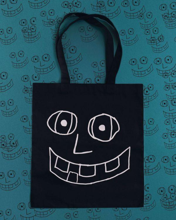 """Еко сумка """"Велика посмішка"""""""